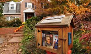 take a book leave a book tiny libraries thrive in us