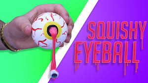diy squishy slime eyeball make your own gruesome gift eyeball