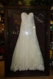 wedding wishes keepsake shadow box framed wedding dress by floral keepsakes displayed in one of our