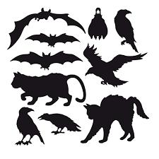 halloween silhouette clipart furniture breathtaking best images printable halloween