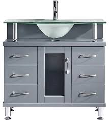 Modern Bathrooms Vanities Vincente 36