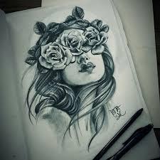 realistic sketch from roza sake tattoo crew