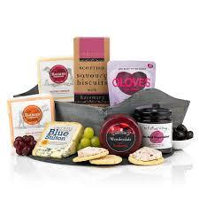 Cheese And Cracker Gift Baskets Cheese U0026 Crackers Fresh Food Christmas Gift Virginia Hayward Hampers