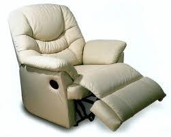 fauteuil relax confortable fauteuil de relaxation manuel cuir avec repose pieds intégré no