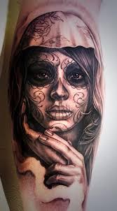 tats on black and grey sugar skull http t