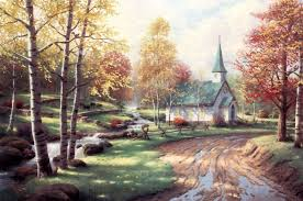 popular canvas from kinkade now on quibids quibids