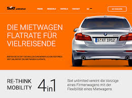 si e auto r lementation sixt unlimited