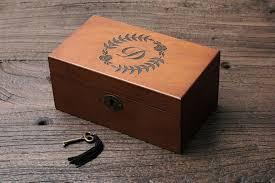 personalized s box custom wood box monogram