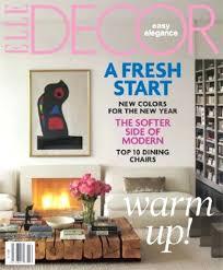 Modern Home Decor Magazines Decorations Elle Home Decor Magazine Subscription French