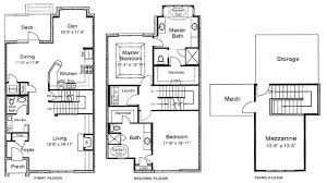 3 story home floor plans 3 bedroom house plans 3 story home plans