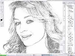 photoshop i convert a photograph into sketching like black and