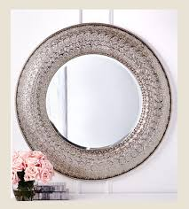 Rhinestone Wall Mirror Decorative Mirrors Large Wall Mirrors Round Mirror Unique
