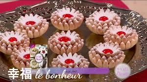 cuisine alg駻ienne gateaux recettes gâteau fleur de marguerite recette facile la cuisine algérienne
