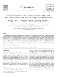 empirical assessment of the hellenic non residential building