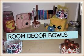Home Decor Bowls Room Decor Diy Glue Bowl Youtube