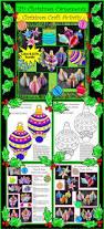 christmas crafts u0026 art activities 3d christmas ornaments craft