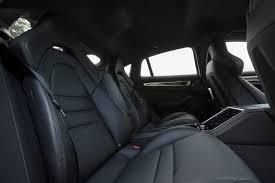 porsche panamera turbo interior 2017 porsche panamera turbo rear interior seats 1 motor trend