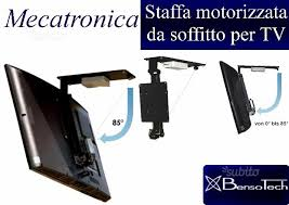 tv a soffitto staffa motorizzata per tv a soffitto book50 nuovo audio in