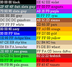 types of green color names of different colors of green my web value