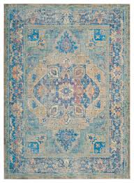 Teal And Gold Rug Safavieh Claremont Woven Rug Blue Gold Mediterranean Area