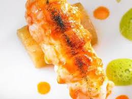 cuisine langouste plancha comment cuire des queues de langoustine à la plancha par