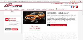 nissan rogue for lease nissan deals 2017 sentra 88 a month rogue 117 share deals