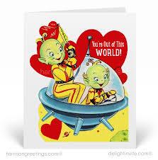 1950s vintage valentines card val223 harrison greetings