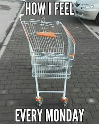 Shopping Cart Meme - 59 monday meme pictures to try and make your weekend longer meme