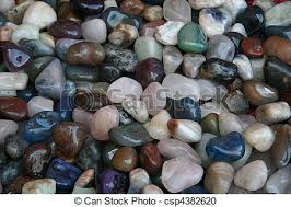 stock photography of multi coloured ornamental stones