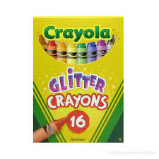 back to crayola glitter crayons crafts for kids