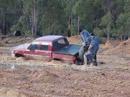 jeep stuck in mud 20 things you should never do in a 4wd recovery