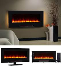 36 Electric Fireplace Insert by Details About Wall Mount Electric Fireplace Heater Insert 36