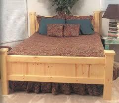 wooden log bed frames home design ideas
