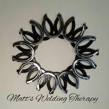 horseshoe wreath custom horseshoe cactus by intrigue custom creations custommade
