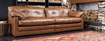 Big Leather Sofas A Big Leather Sofa Range Baltimore From Dansk Get Comfy