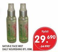 Pembersih Muka Natur E promo harga natur e pembersih penyegar wajah terbaru minggu ini