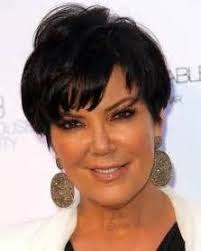kris jenner hairstyles front and back kris jenner hairstyle front and back views photo pinteres