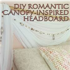 how to create a romantic canopy inspired u201cheadboard u201d u2013 the decor guru