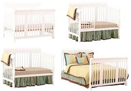 Convertible Cribs Canada Crib Converts To Bed 3 In 1 Convertible With 2 Small Dressers