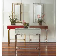 ming walnut console table