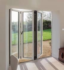folding door glass aluminium bi folding door with exterior door aluminium bi folding