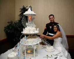 marine wedding cake toppers custom cake toppers for your wedding