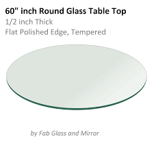glass table tops online 60 inch round glass table top galveston dining room pinterest