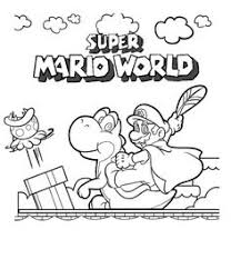 printable coloring pages mario luigi happy birthday party