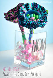 duct tape flowers using plastic eggs club chica circle where