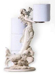 themed toilet paper holder theme mermaid shaped bathroom toilet paper holder statue