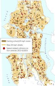 Seattle City Limits Map by Seattle U0027s Safer Speeds Plan Heads To Transpo Committee Housing