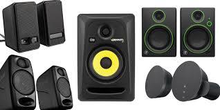 best speakers best desktop speakers for mac users logitech mackie krk and more
