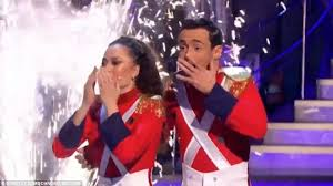 strictly come joe and katya scoop trophy daily