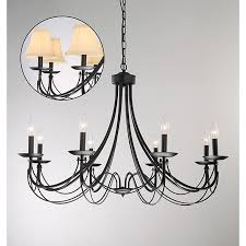 Black Iron Chandeliers Homeofficedecoration Black Iron Chandeliers
